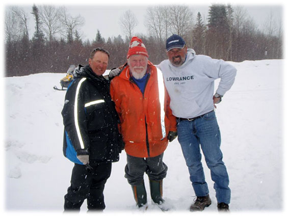 Gogama Ice Fishing 2015