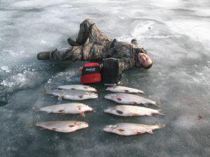 Ice fishing for Lake simcoe fishing report