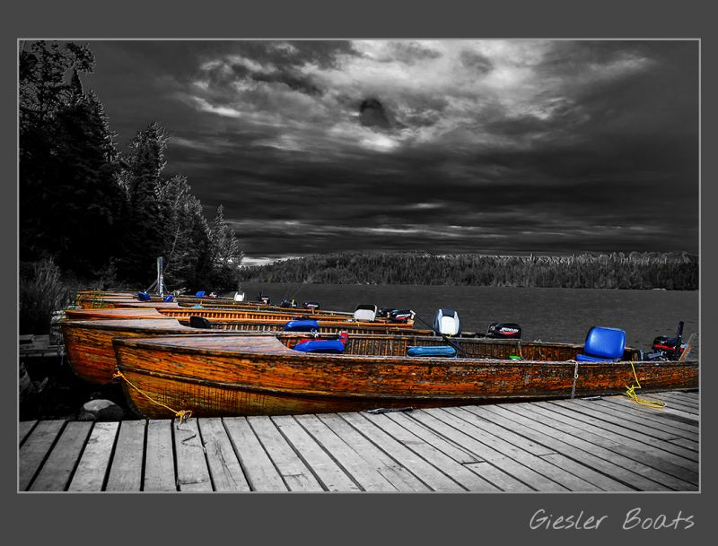 How to take a break. Giesler cedar boats. Esnagami Wilderness Lodge.