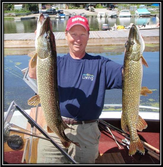 Toronto Island Pike Fishing