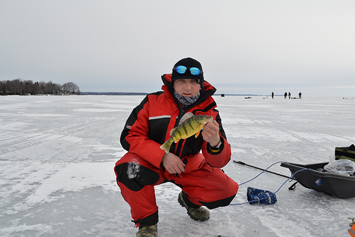 Big bay point march 16 for Lake simcoe fishing report