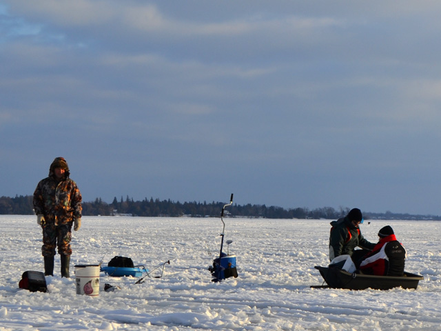 6th line innisfil jan 12 for Lake simcoe fishing report