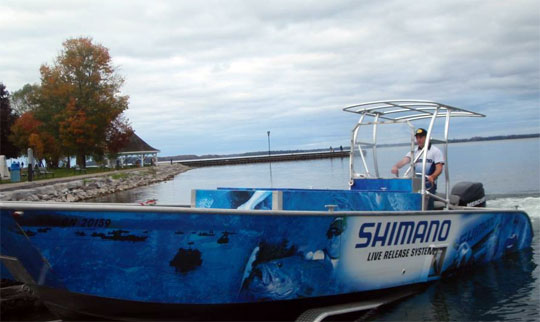 The Shimano Live Release Boat