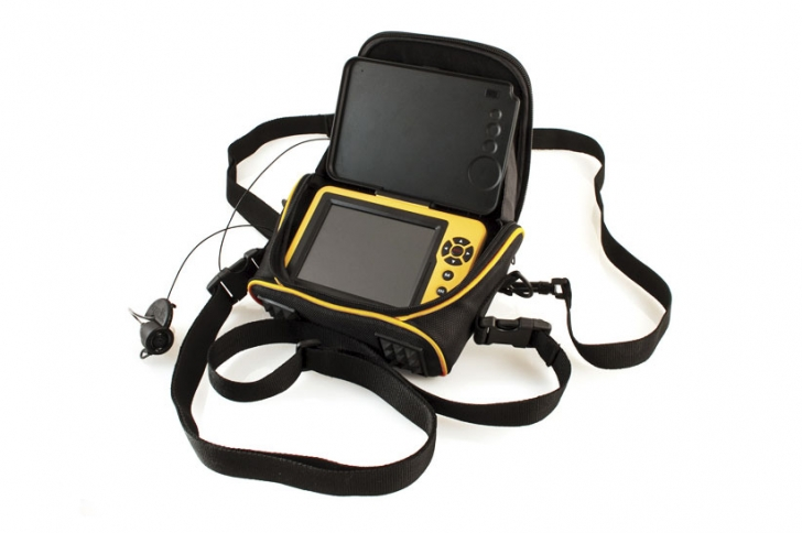 The first wearable underwater camera holster, the Pro Viewing Case fits any Aqua-Vu Micro Series system, allowing anglers to view with unprecedented mobility, convenience and nearly hands-free operation.
