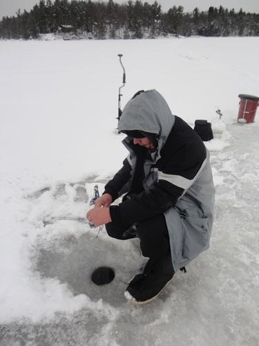Lake simcoe fishing forum topic gibson lake ice for Ice fishing forum
