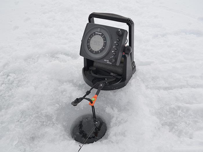 Lake simcoe fishing forum topic humminbird ice flasher for Ice fishing flasher