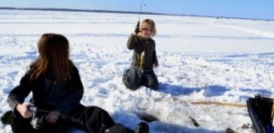 The future of ice fishing on Lake Simcoe