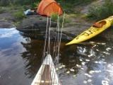 2015 All Boyz Fathers Day Weekend Canoe and Fishing Trip - Killarney Ontario