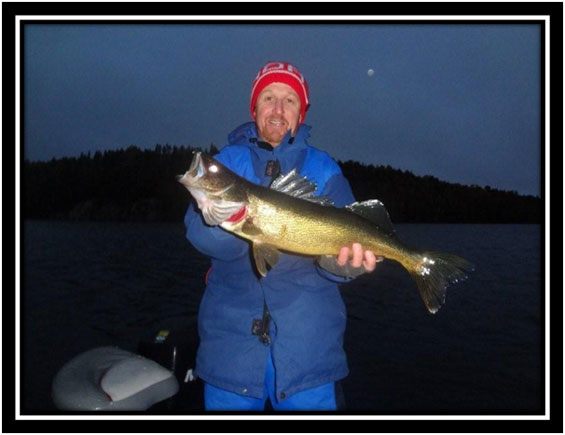 Marcel Wegman Olive Lake Walleye
