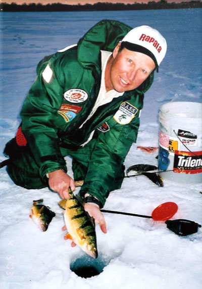 Wil with Simcoe perch