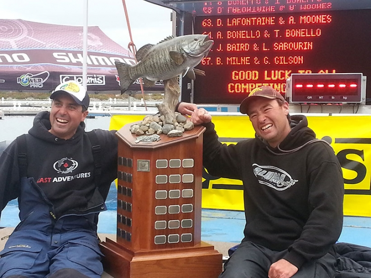 2014 Bass Pro Shops Lake Simcoe Open Results