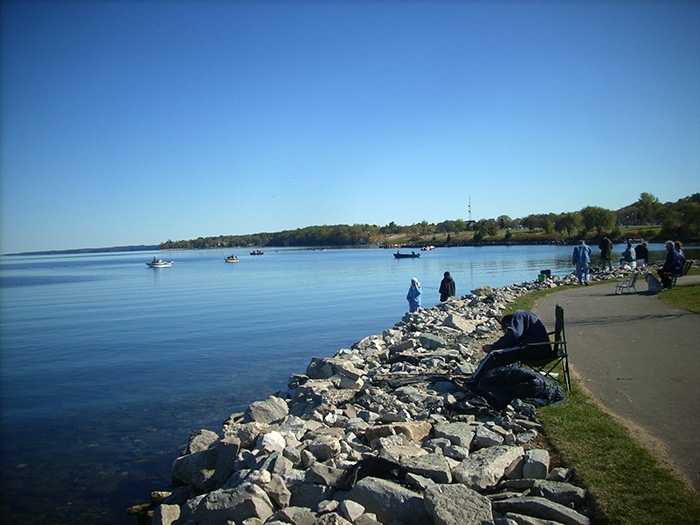 Fishing in Barrie